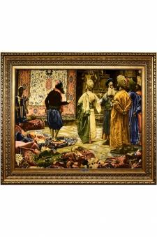 بازار بزرگ فرش فروشان مصر