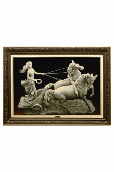 تندیس دختر ارابه سوار