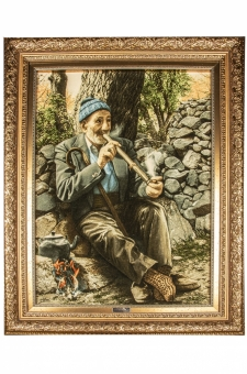 پیرمرد و چپق  احمدی