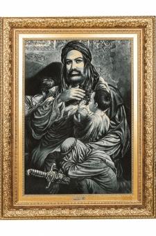 یتیم نوازی حضرت علی (ع) سیاه قلم  احمدی