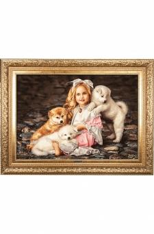 دختر سه توله سگ  احمدی