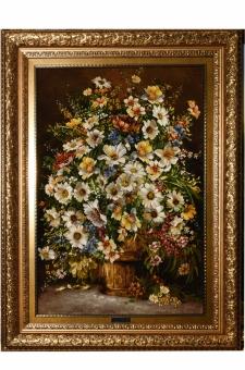 گلدان و سطل چوبی  احمدی