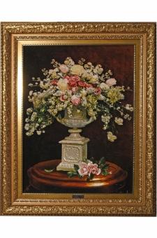 گل وگلدان سنگی  احمدی