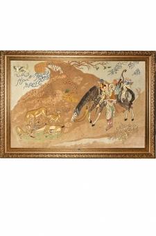 شکارچی آهو نقاش پور